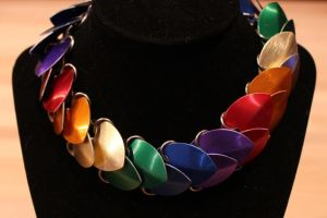 Rainbow Large Sale Necklace by DracoLoricatus