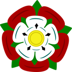 Tudor rose vector by HareTrinity