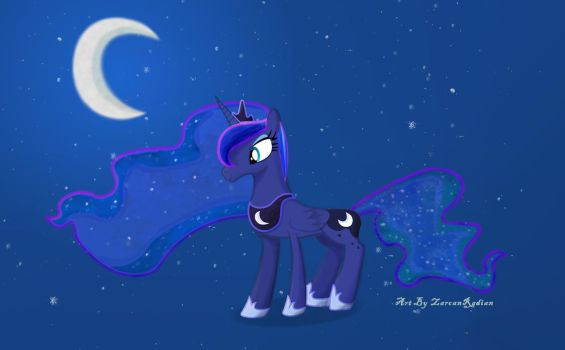 Space Luna, Princess of the night by Zarcan