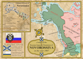 The Russian Imperial Dominion of Novorossiya by Martin23230