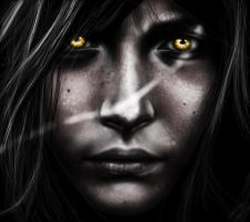Eyes of fire by abou3