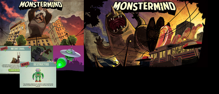 MonsterMind Collection 1 by Madzilla345
