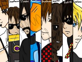 Minecraft Youtubers! by LoveLeeGamer