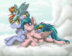 Rainbow Family by InuHoshi-to-DarkPen
