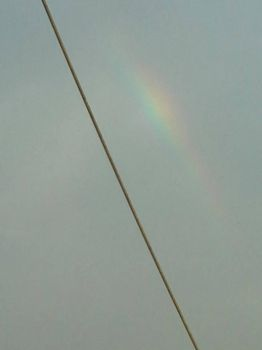 Early rainbow in Callao by hrdeviantart