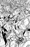 TF MTMTE 18 cover lineart by markerguru