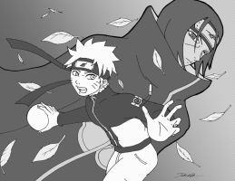 Naruto's Fateful Battle by Gevurah