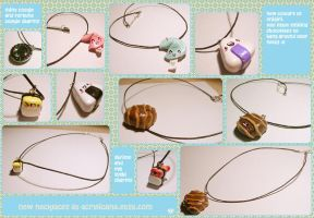 Kawaii Necklaces by tedsie
