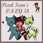 Pixel Icons (Open) by Vexlovely