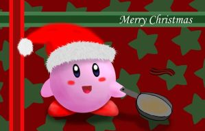 Kirby Christmas Card by ProNorst
