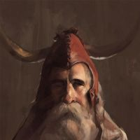 Moondog Study by TR-B