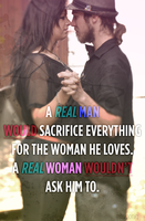 Real Man + Real Woman by beserker1983