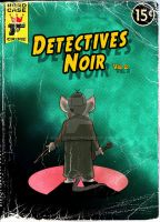 Detective Noir Vol. 2 Cover by WulfFather