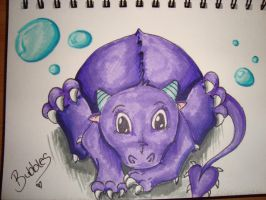 Bubbles the baby dragon by db702