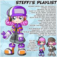 Steffi's Playlist by CubeWatermelon