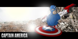 Sketch a Day Avengers - Captain America by Duff03