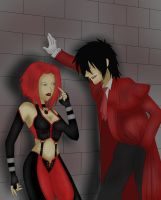 bloodrayne and alucard by nothinimportant