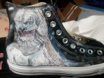 Game of Thrones - Custom Converse - White Walkers2 by ChainsawwCutie