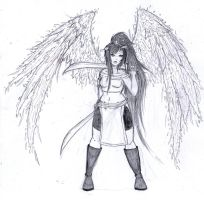 :Sketch: Aelys by melodygrint