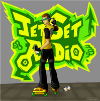 Jet Set Radio by Spookaboo