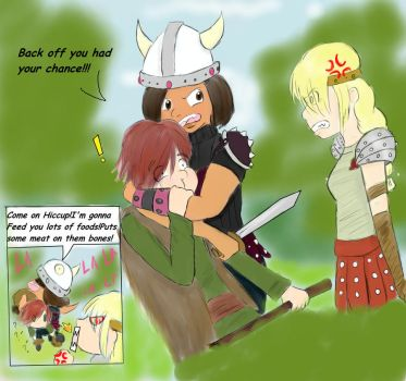 Hiccup Comic page 8D by ArtChick94