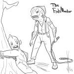 The fish master by Dragon-Storm
