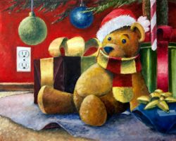 Merry Christmas Bear! by Sainez