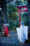 Nura and Yuki Onna::::::: by Witchiko