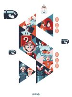 Super Vector Bros by Weidel