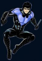 Nightwing Prestige Series 2.0 Commission by Thuddleston