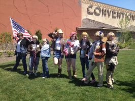 America's at Colossalcon by Akatsuki-Leader2012