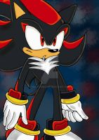 Shadow the Ultimate by SONICJENNY