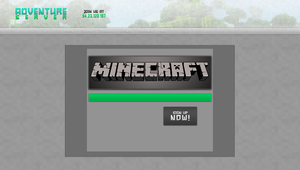 Adventure Server Website Design by TriigzHD