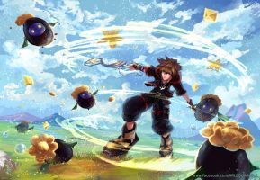 Kingdom Hearts 3 by Arlequinne