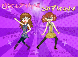Patrice and Sidelle's Music Video Dance Mash-Up! by MU-Cheer-Girl