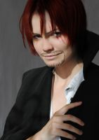One Piece: Shanks by insomnia-k