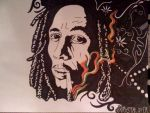 Bob Marley THREE by HippieKrys