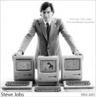 Steve Jobs by TzeleniZ