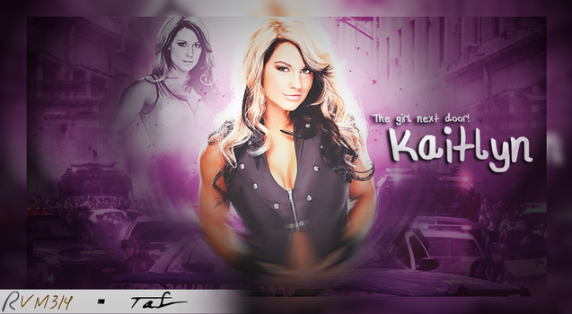 Kaitlyn - WE WWE FANS MISS YOU by RudraVM314