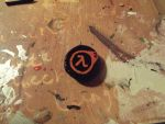Half-life 2 Necklace charm by eydt