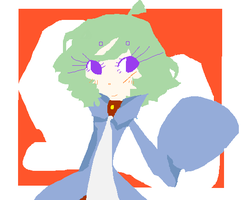Polarei has matured by The-Pink-Green-Chibi
