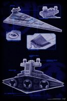 Imperial Star Destroyer by Quinn-G