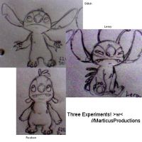 Stitch, Leroy and Reuben by MarticusProductions