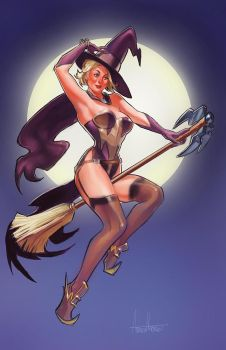 Mercy Witch by amherman