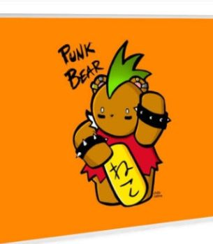 GOOD FORTUNE PUNK BEAR MM Edition by ChibiCelina