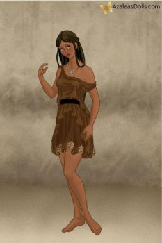 Pocahontas - Roman Lady by IndyGirl89