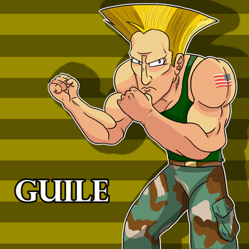 Guile - Street Fighter by patrick20cool