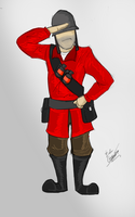 SOLDIER!!! [TF2] by Edgar-Games