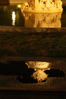 nighttime reflections by Elliair