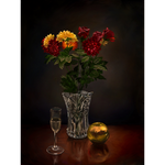 New Year's Eve still life by Flrmprtrix